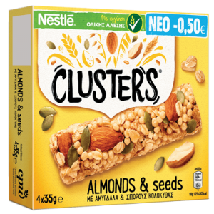 clusters almonds p