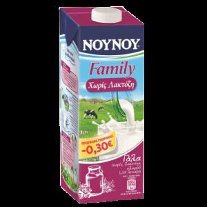 nounou family lactose free 1lt sticker