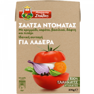 Σάλτσα ντομάτας για λαδερά ΜΠΑΡΜΠΑ ΣΤΑΘΗΣ 270gr με pockee cashback 2x0,30€