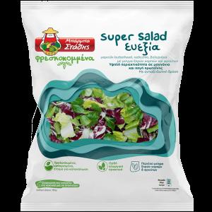 Σαλάτα ΜΠΑΡΜΠΑ ΣΤΑΘΗΣ super salad ευεξία 180gr με Pockee cashback 0,50 €